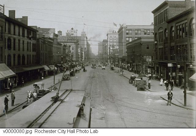 Main Street, circa 1910.